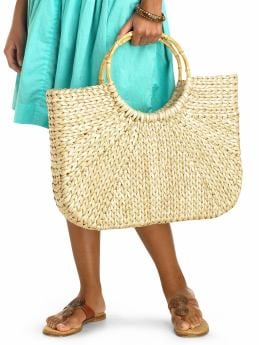 Gap.com: Women: Shop Women's Styles: Bags: Totes:Bamboo handle rattan tote from gap.com