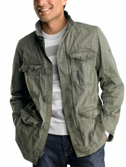 Gap.com: Men: Shop Men's Styles: Commander slub twill jacket: Coats & Jackets: Outerwear from gap.com
