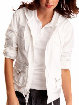 Gap.com: Women: Women: Hooded surplus jacket: Long-Sleeved Shirts: Shirts from gap.com