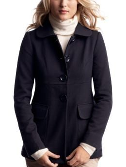 Gap.com: Women: Womens: Wool car coat: Outerwear: New Arrivals :  wool lined wool car coat empire seam
