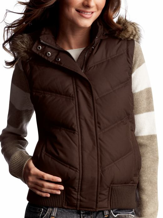 Women: Womens: Puffer vest: Outerwear: New Arrivals | Gap :  jacket outerwear puffy vest puffer vest