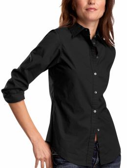 Gap Stretch fitted shirt - black