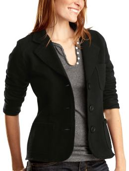 Gap Lightweight fleece blazer