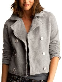 Gap Lightweight fleece peacoat