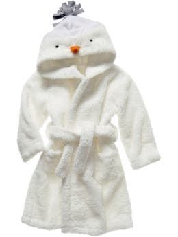 Gap.com: babyGap: Baby Boy: Sleepwear:Snowman robe :  fleece babygap child baby