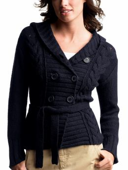Gap.com: Women: Womens: Double-breasted cableknit cardigan: Cardigans & Hoodies: Sweaters