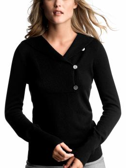 Gap.com: Women: Womens: Cashmere shawl hoodie: Cardigans & Hoodies: Sweaters from gap.com