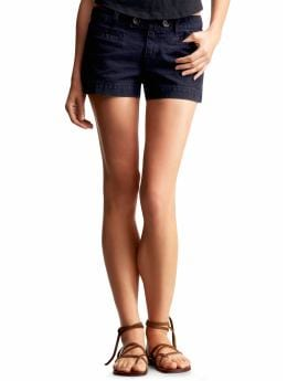 Gap.com: Women: Womens: Indigo double tab-front denim shorts: Short: Shorts