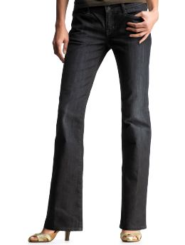 Gap.com: Women: Womens: Curvy boot cut jeans (Atlantic blue): Curvy: Jeans :  curvy jeans cut curvy boot cut jeans atlantic blue