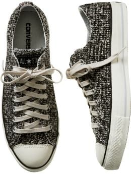 :: Adventures in the Stiletto Jungle ::: FOUND: Converse Goes Ladylike With Tweed :  womens tweed shoes converse