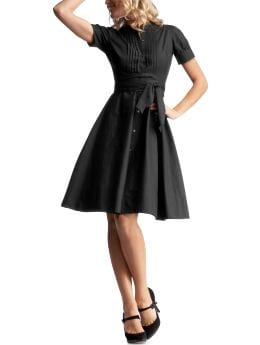 Women: Womens: Pleated shirt dress: Dresses: Dresses | Gap :  dress women pleated shirt dress petite dresses