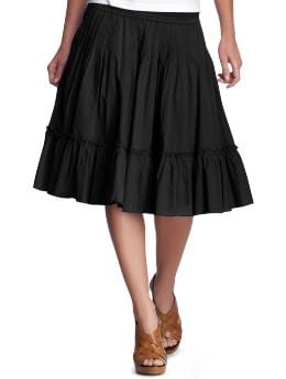 Women's Clothing: Women's Clothing: Ruffle skirt: Skirts | Gap :  fashion pockets skirts womens