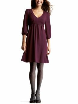 Gap.com: Women: Womens: Blouson V-neck dress: Dresses: New Arrivals