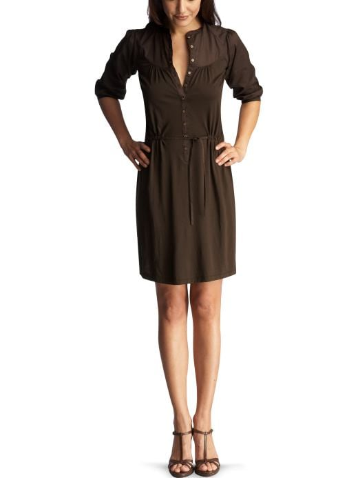 Women: Womens: Pima henley dress: Dresses: Dresses | Gap