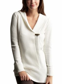Gap.com: Women: Womens: Hooded tunic sweater: Sleep & Lounge: New Arrivals from gap.com