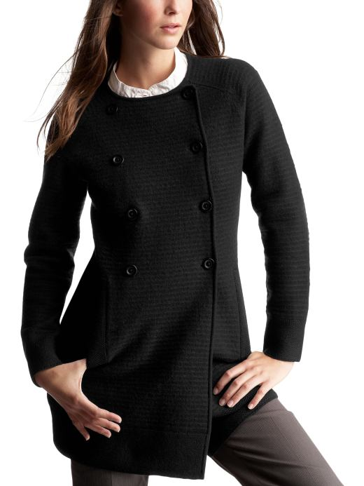 Gap.com: Women: Womens: Double-breasted merino wool coat: Shop All Styles: European Collection :  wool women womens sweaters womens