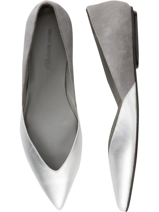 Women's Clothing: Women's Clothing: Pointed flats: Design Editions European Collection | Gap :  spring summer womens shoes spring 2008 accessories