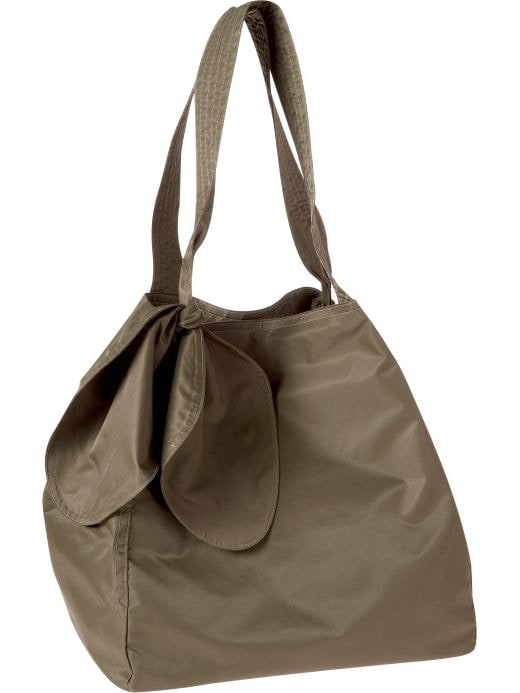 Women's Clothing: Women's Clothing: Large nylon tote: Totes & Satchels Handbags | Gap :  drawstring women womens new arrivals