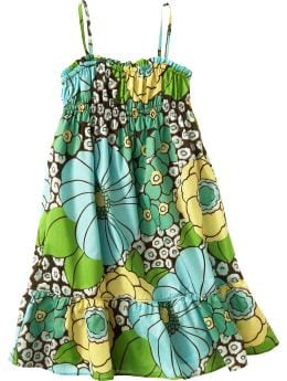 Baby Clothing: Baby Girl Clothing: Floral print sundress: Toddler 1-5 yrs Dresses | Gap :  girls clothing floral print baby gap kids fashion