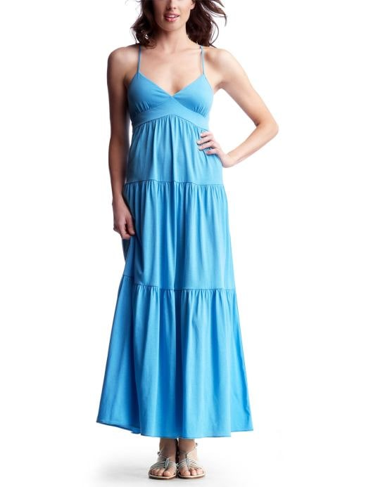 Women's Clothing: Women's Clothing: Long tiered sundress: Dresses New Arrivals | Gap :  skirt long accessories dresses