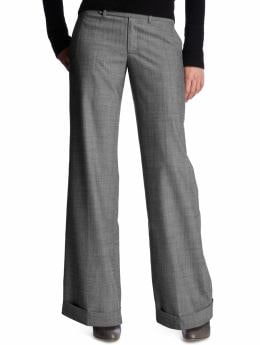 Women's Clothing: Women's Clothing: The perfect tab-waist trouser: The Perfect Trouser Pants | Gap :  gray the perfect tab-waist trouser trouser gap