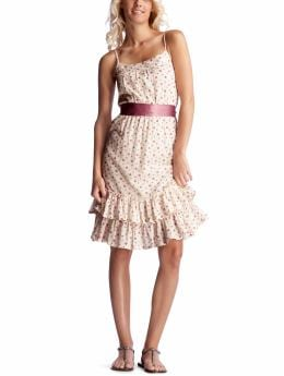 Women's Clothing: Women's Clothing: Dotted sash dress: Dresses | Gap