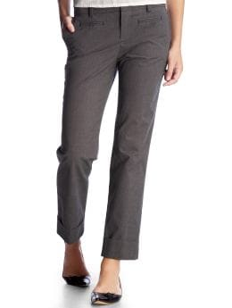 Women's Clothing: Women's Clothing: Cuffed cropped pants: Bottoms New Arrivals | Gap :  cuffed cropped pants gray business cuffed