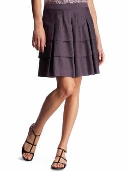 Women's Clothing: Women's Clothing: Tiered skirt: New Arrivals | Gap :  womens zipper closure tiered skirt lined