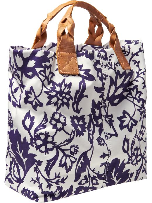 Women's Clothing: Women's Clothing: Cotton sateen tote: The New Natural | Gap from gap.com