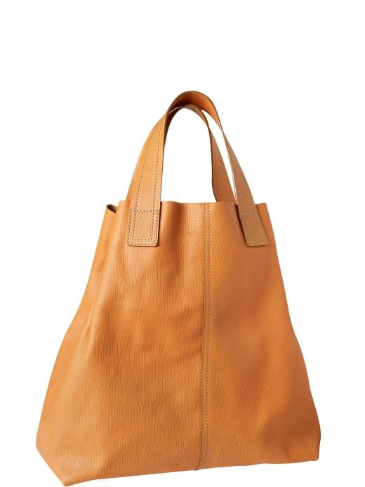 Women's Clothing: Women's Clothing: Small leather tote: Accessories New Arrivals | Gap