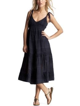 Women's Clothing: Women's Clothing: Tie-shoulder dress: Dresses | Gap :  bows lined dress european collection