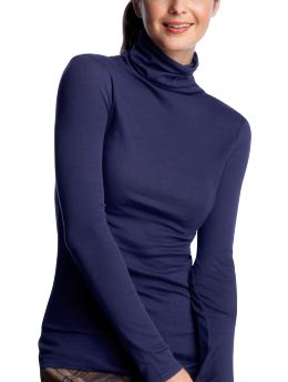 Women's Clothing: Women's Clothing: Whisper thin turtleneck: Autumn Classics | Gap :  autumn classics clothing heather grey lightweight