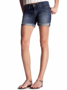 Women's Clothing: Women's Clothing: Frayed-cuff denim shorts: Shorts | Gap :  frayed-cuff denim shorts cut offs denim shorts