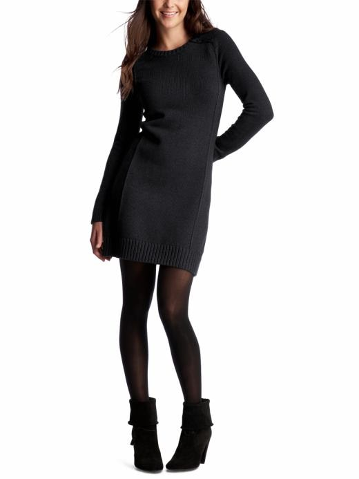 Black sweater dress black sweater dress 2012 black for Can i wear a sweater dress to a wedding