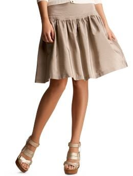 Women s Clothing Women s Clothing Taffeta mini pleat skirt Bottoms New Arrivals Gap from gap.com