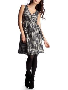 Women's Clothing: Women's Clothing: Wrap dress: Dresses European Collection | Gap :  hits at knee clothing womens gray