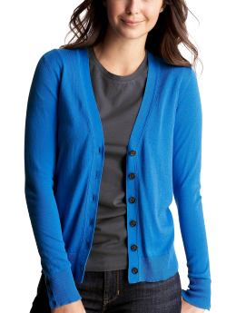 Women's Clothing: Women's Clothing: The new V-neck cardigan: Cardigans & Hoodies Sweaters | Gap :  blue nautical fitted womens