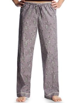 Women's Clothing: Women's Clothing: Printed poplin pajama pants: Sleepwear New Arrivals | Gap :  gap body wide leg clothing womens