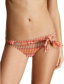 Women's Clothing: Women's Clothing: Plaid bow bikini: Swim - 25% Off | Gap from gap.com