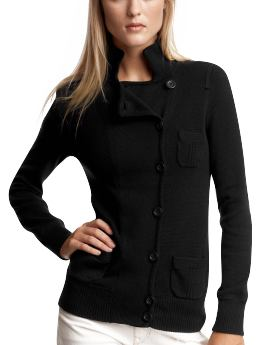 Women's Clothing: Women's Clothing: Military cardigan: Tops New Arrivals | Gap :  heavyweight sweater asymmetrical fall