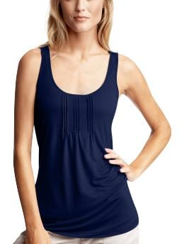 Women's Clothing: Women's Clothing: Pintucked tank: Tops New Arrivals | Gap from gap.com
