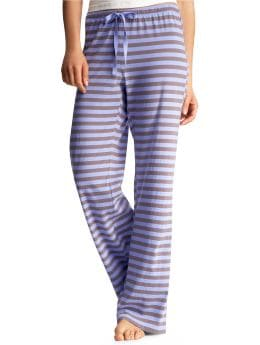 Women's Clothing: Women's Clothing: Striped pants: Sleepwear New Arrivals | Gap :  gap body stripes clothing womens