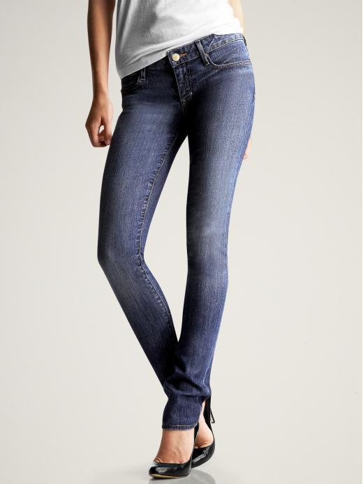 Gap Womens Medium Always Skinny Tall Jeans (Medium Wash)