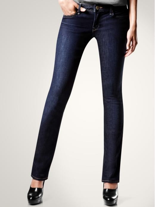 Women's Clothing: Women's Clothing: Real straight jeans (dark wash): Real Straight Jeans | Gap