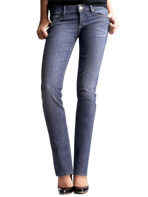 Gap Petite Womens Medium Real Straight Jeans Size 0 2 4 6 8 10 12 14 16 18 20