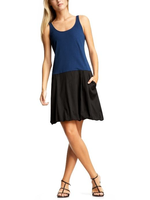Women's Clothing: Women's Clothing: Colorblock tank dress: Dresses New Arrivals | Gap :  womens navy sleeveless rayon