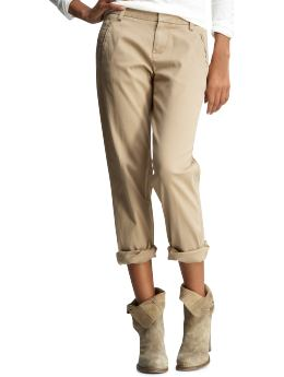 Women's Clothing: Women's Clothing: Schoolboy khakis: Boyfriend Pants | Gap from gap.com