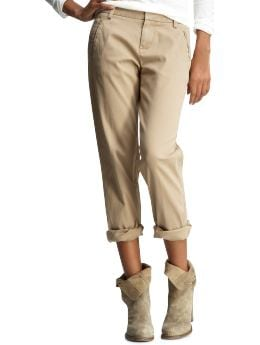 Women's Clothing: Women's Clothing: Schoolboy khakis: Boyfriend Pants | Gap
