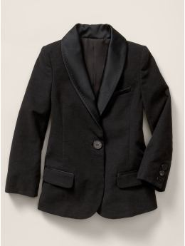 Kids Clothing: Girls Clothing: Stella McCartney tuxedo jacket: Apparel See the Collection | Gap :  jacket tux gap kids gap