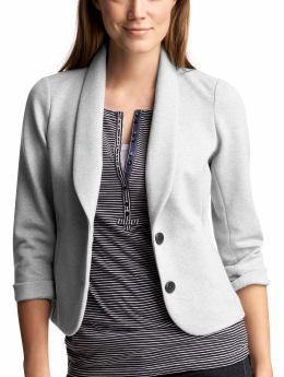 Women's Clothing: Women's Clothing: Double-knit blazer: Blazers Outerwear | Gap